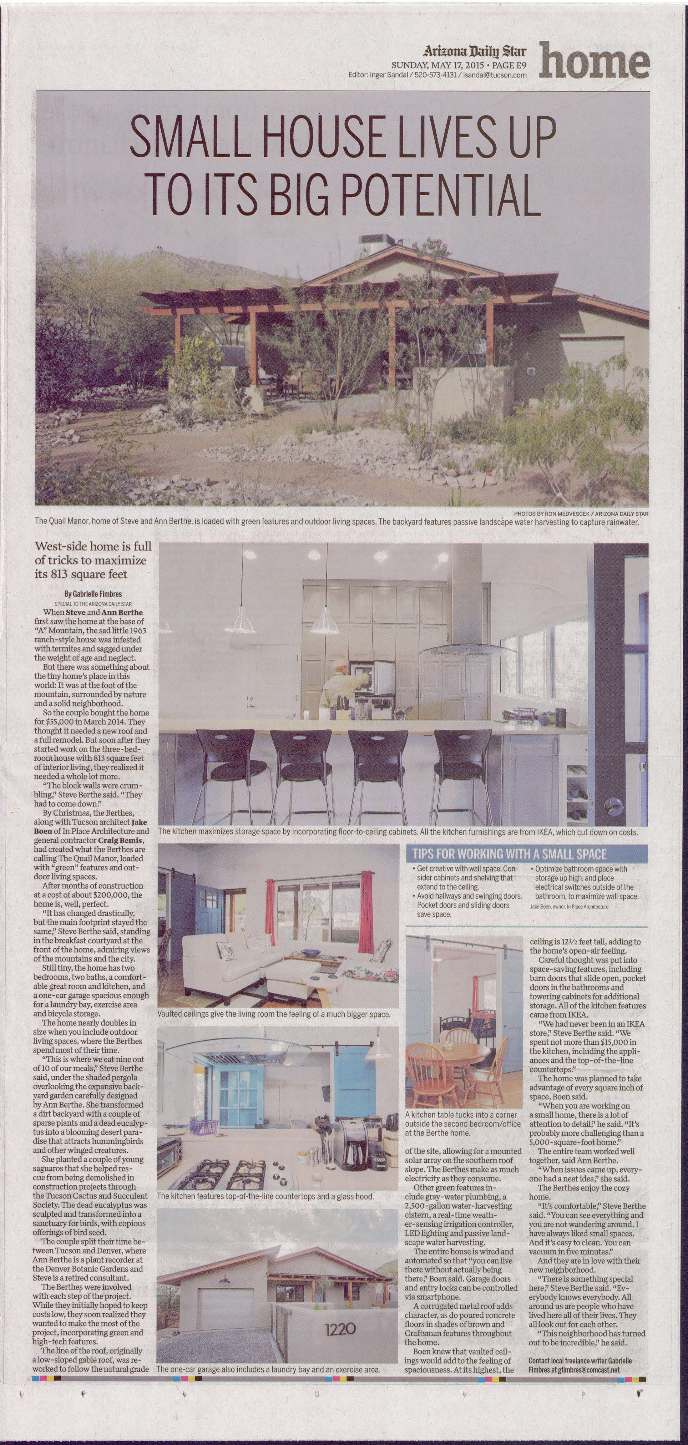 Home+Life Tucson Paper